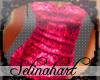 *S*Sequined Fuschia Tank