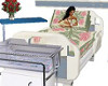 AS Hospital Bed w/ Baby