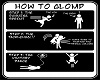how to glomp