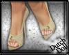 DD Bridal Heels Champagn