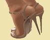 """Matching Beige 5"""" Heels"""