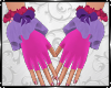 Gloves Cuffs Easter Bow