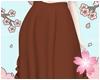 E. Long Skirt Brown