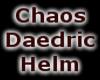 Chaos Daedric Helm