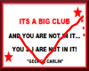 D Big Club  G. Carlin