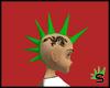Green Spikes w/Dragon