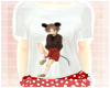 <3 Minnie Mouse Top