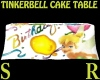 Tinkerbell Cake Table