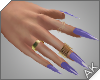 ~AK~ Nails: Gold/Iris