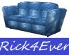 BLUE PVC SOFA