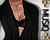 M| Femi Gown Black Med