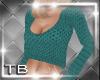 [TB] Liza Sweater Teal