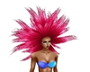 mermaid hair hot pink