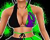 Green Dripp Top ++