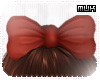 {J} Hopi HairBow | Red