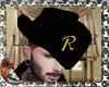 cowboy hat w/ R