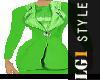 Lg1 Green Dress  PF