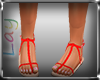 Ll RED SANDALS