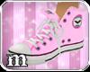 [m] Pink Coreture Sneaks