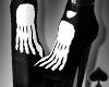 Cat~ Skeleton Boots