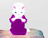 *G*White Furry Baby *pet