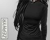 . (RLL) black sweater