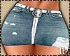 Denim Ripped Skirt RL