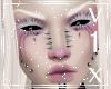 KIRA white lashes