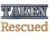 Taken Rescued Sticker