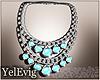 [Y] Necklace teal
