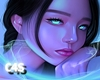 💋 Blue Girl | Art
