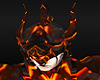 Magma Red Dragon Helmet