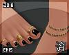 !E! Rings+Anklet FEET