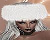White Fur Hat