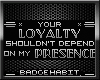 [H] Your Loyalty Badge