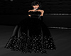 GL-Black Feather Gown
