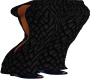 Black Scale Pants