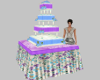 Wedding Cake blue/purple