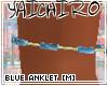 Blue Anklet [M]