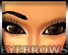One Shaved Eyebrow