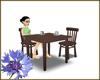 Cafe Parlottio Table