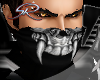 -SR- Skull Half Mask