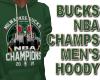 BUCKS NBA CHAMPS M HOODY