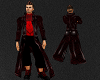 REDTop & Dark Red Trench