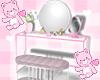 girly vanity table <3