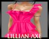 [la] Hot pink neon top