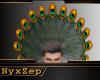 Peacock Headdress Mens