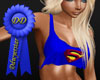supergirl naughty T blue