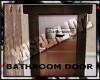 MATERNITY: bathroom door