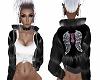 Black Puff Jacket W.